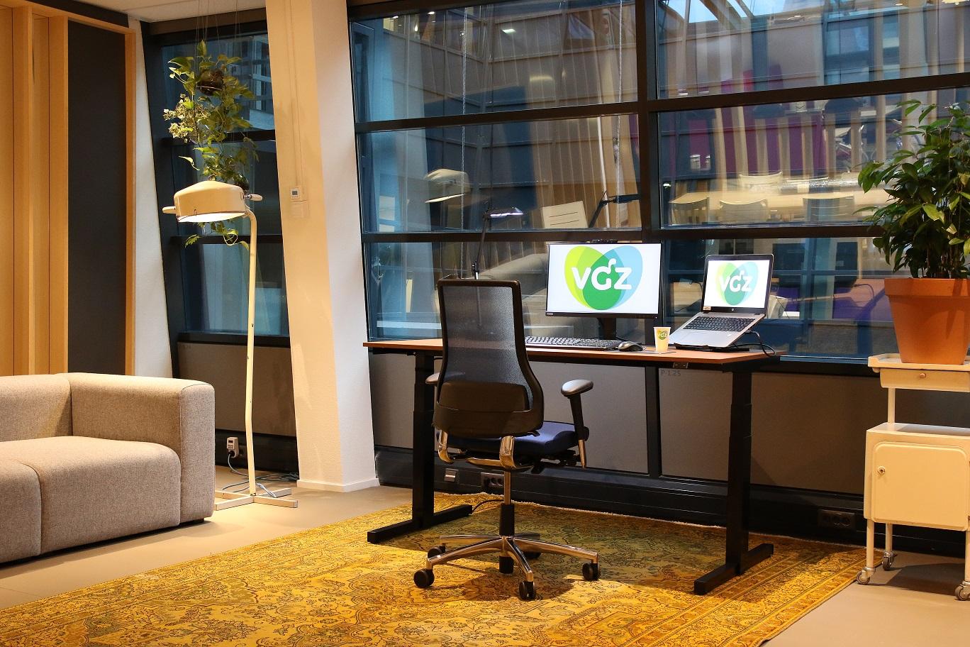 Voel je thuis bij VGZ met thuiswerkplek.nl